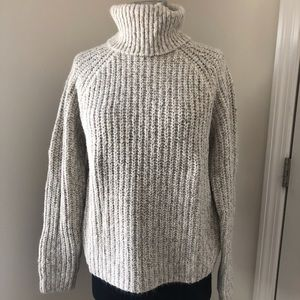 Abercrombie Thick Knit Turtleneck Sweater
